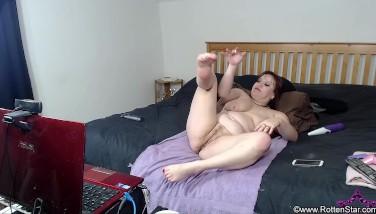 Toe Sucking Hard Cunt Fucking Masturbation Web Show - ALHANA WINTER