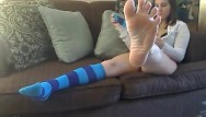 Teen socks - Meggerz - blue knee socks