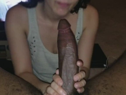 BBC Cums In Muslim Teen Throat and Makes Her Gag