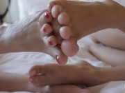 Eva lovia Lesbian Foot Fetish