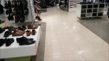 Store Restroom Fuck & Gargle Swallow