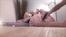 Master Plays With His Anal Slave