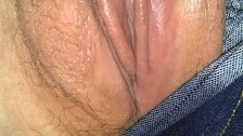 Squirting while getting pussy eaten