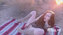 Mira_xo 18 y/o Outdoor/Desert Solo Masturbation