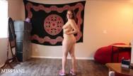 Miss naked nevada - Naked walking jumping jacks tease