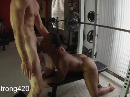 тренировка превращается в горячий трах с сексуальным черного мильф предварительного просмотра