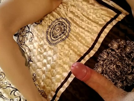 Hot fucking on parents bed | POV, Creampie, Real Orgasm