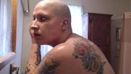 Shaved head images for myspace Sensual bbw fresh head and shower shave masturbation