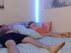 Emma Gets A Face Total Of Stepbrother's Cum