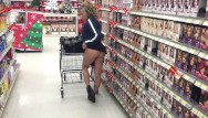 Walmart sex discrimination suit Walmart store daring flash of pussy and great milf ass