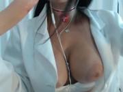 Doctor Emanuelly Raquel Does an Emergency Handjob