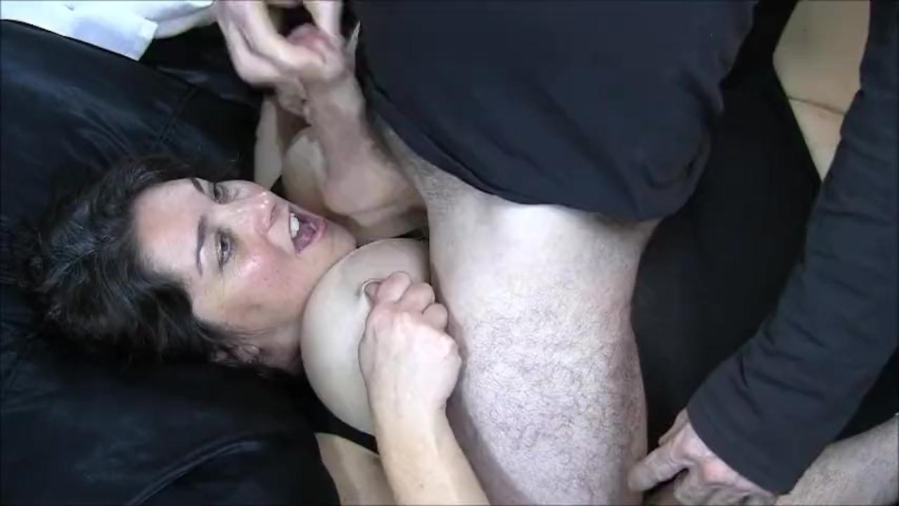 Big Tits Amateur Blowjob & Facial 98%
