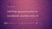 Latina adolescente se corre con un consolador de vidrio - Agatha Dolly
