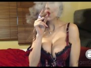 AgentSexyHot Cigar Smoking Pussy Smoking Queef