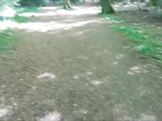 Public Naked Woodland Fuck & Swallow