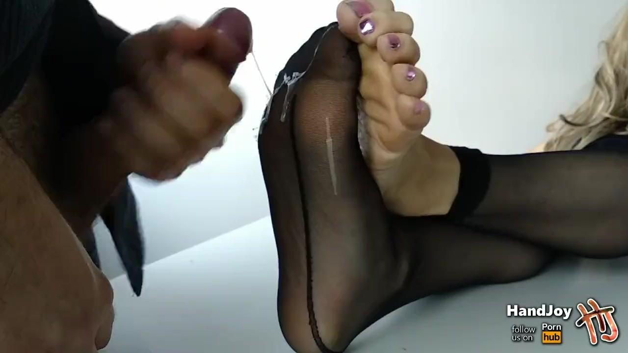 HandJoy * Cum on soles / solejob compilation * Vol. 1