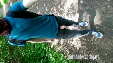teen boy - horny - outside - piss - wank :-)