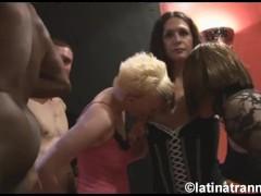 Nikki Montero, 1 Crossdresser, 2 British Damsel Beotches And Fellows On A Uk Orgy