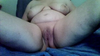 chubby white girl first porn masturbating fun