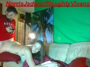 Melanie Hicks sucks & fucks for you; doggystyle cowgirl bj cum on her face