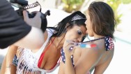 Free abi titmuss black lesbian tape - 4th of july girlfriend fun with romi and abi