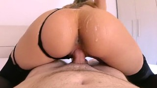 I Love Riding His Cock With My Oiled Butt