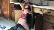 Busty housewife fucks plumber Teen fucks lucky plumber in the kitchen - erin electra