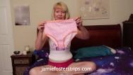 Mature panties porn Jamie foster granny panties