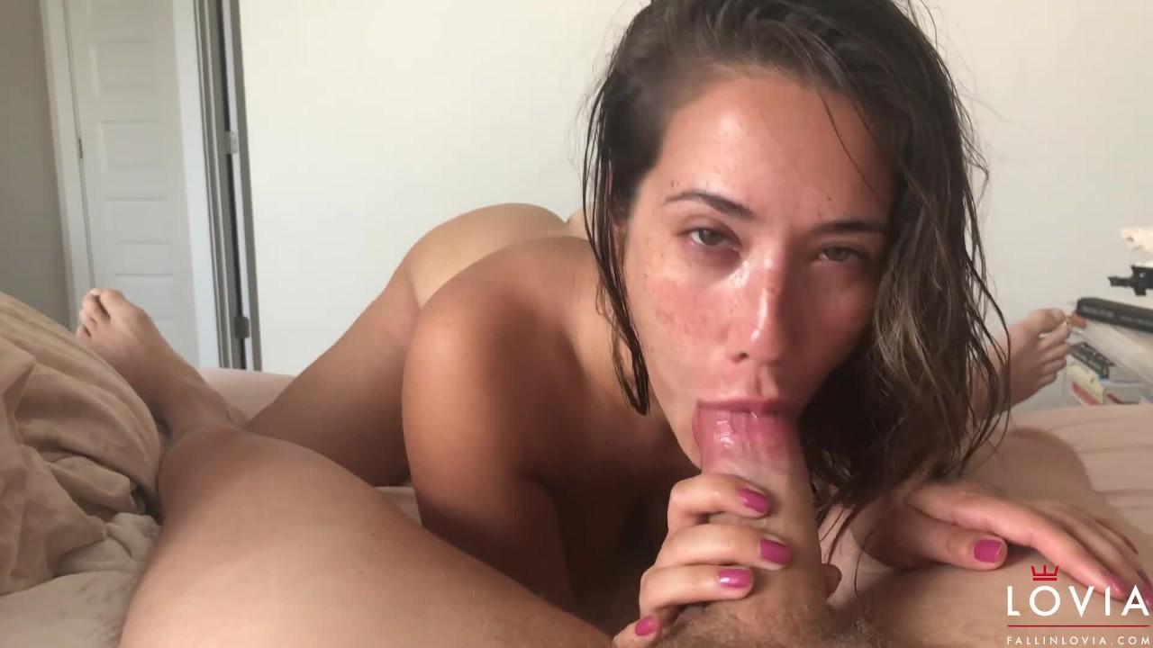 Eva Angelina Blowjob Pov