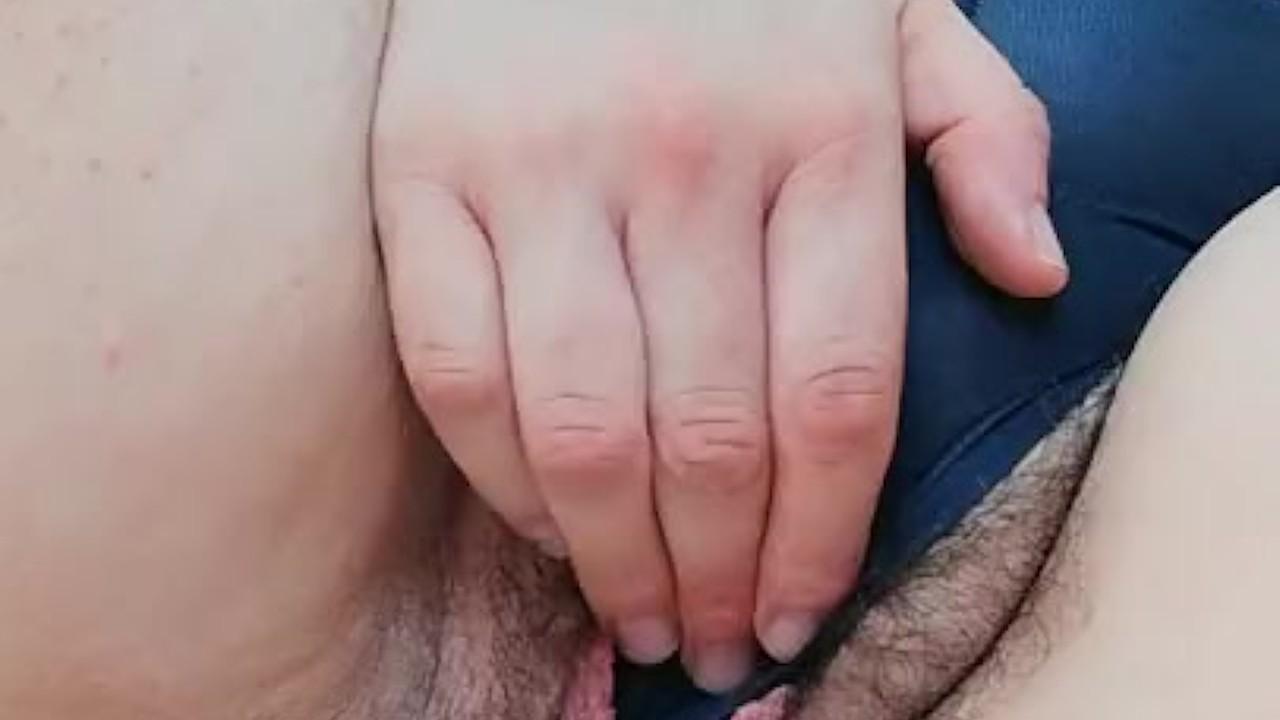 Lingerie Milf Hairy Pussy