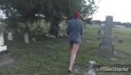 Sexy freaky girls - Freaky couple fucks in graveyard
