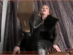 Mistress T Joi Shoe Fetish