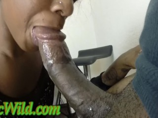 Ghetto Girl Blowjob and Huge Facial…..BuccWild and Loyalty