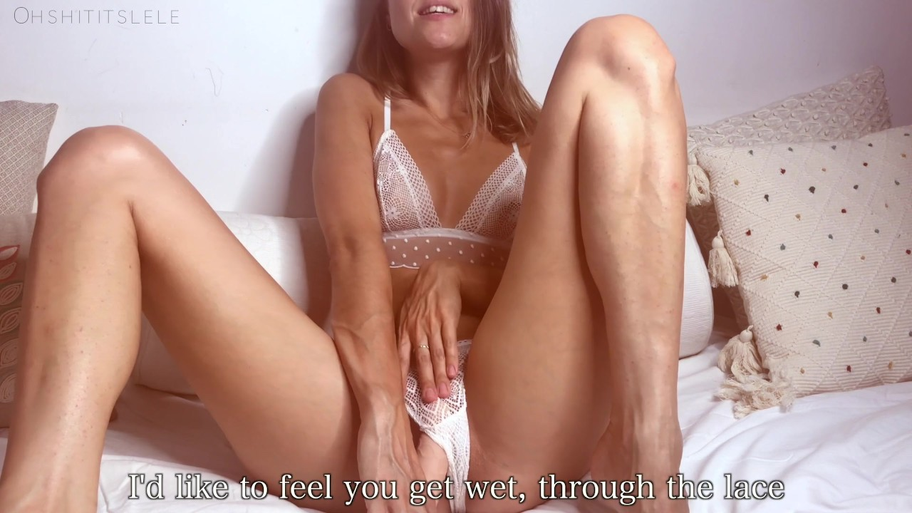 Blonde amateur in pigtails fucked by a big cock in pov
