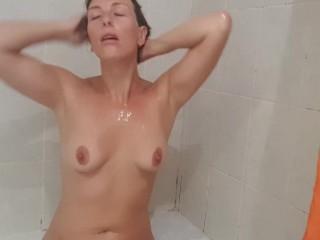 Under my shower