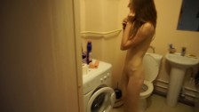 Pervert everyday routine: golden shower, live cam, funny erotic home tape