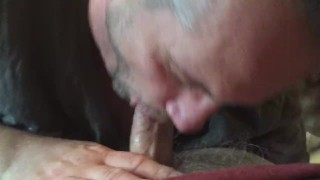 Sucking Cock & Swallowing Cum