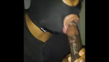 SUCKING MY WEED MAN AGAIN BEFORE HIS BM COME HOME