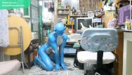 Gay hentai man and body Digitmon veemon boy / body paint / 19 years old extreme fetish cosplay 1