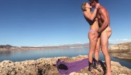 Robin mead tits Fucking and sucking out at lake mead