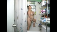 Chubby mom fuck busty - Dirty down south- chubby busty milf has some mommy time in the shower