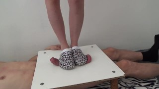 Extreme Cock & Ball Crushing - CBT Trample