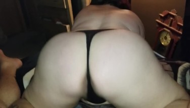 Sexy BBW Fucks and Squirts all over Hard Cock