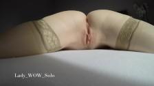 4K Close Up Masturbation, Wet Pussy And Real Orgasm
