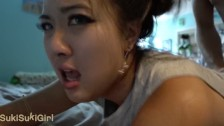 My beautiful Chinese Wife MOANING will make you CUM