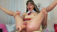 Exotic sex machines Naughty schoolgirl,loves sex machine.record live stream 8