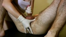 First Deep Prostate Massage - His Best Orgasm