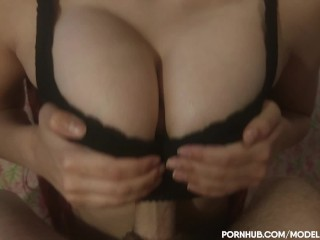 POV TITSFUCK WITH AND WITHOUT BRA