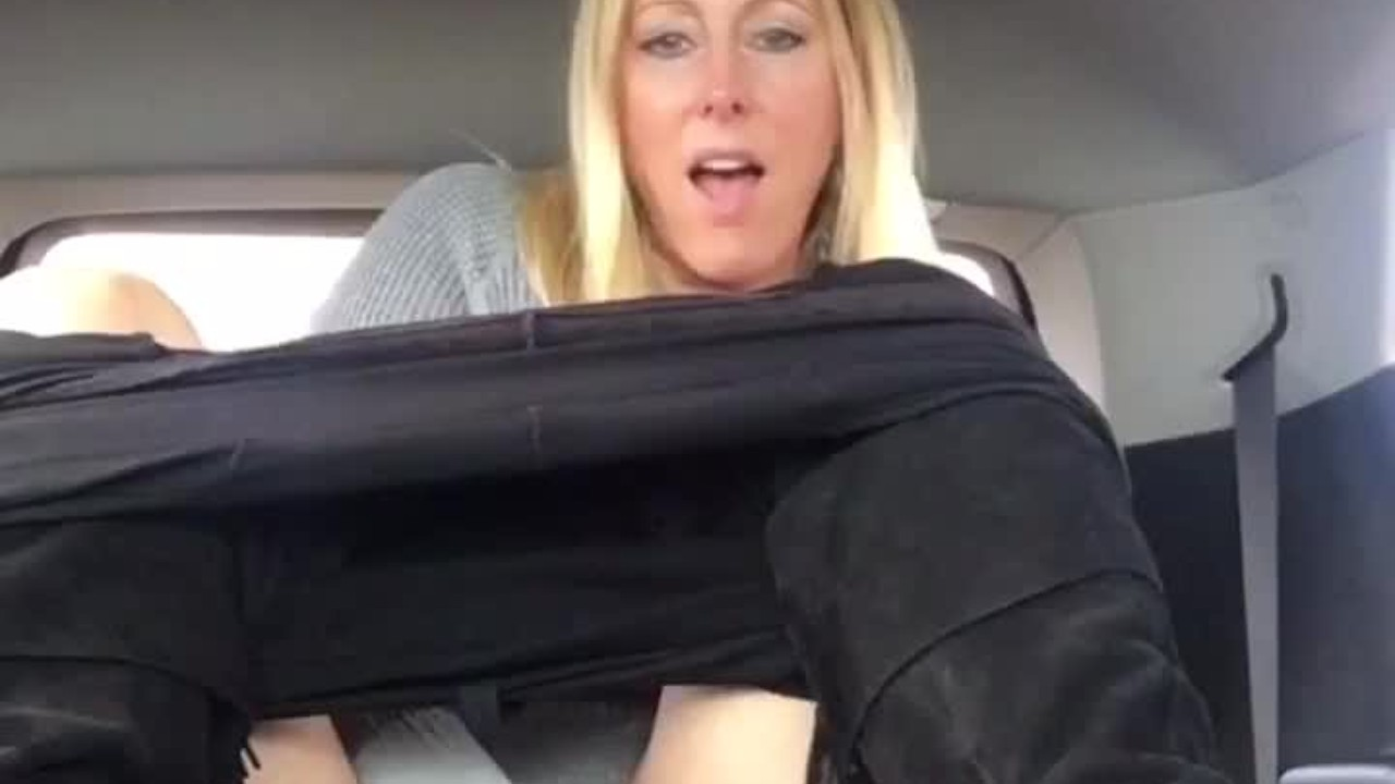 Public Car Masturbation Dildo