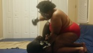 Sex squatting slave pee - Mistress beats and pees on slave while wrestling